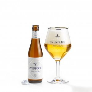 Bouteille de bière COFFRET AVERBODE 7.5° 4BT 1VERRE