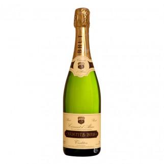 Bouteille de vin blanc crémant d'Alsace brut 75cl