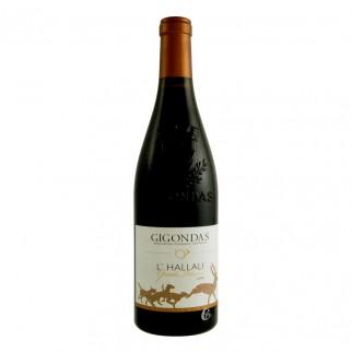 Bouteille de vin Gigondas rouge 75 cl Hallali