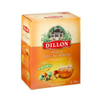 """Cubi de 3L Punch DILLON 15° """"Punch Pot-au-Rhum"""""""
