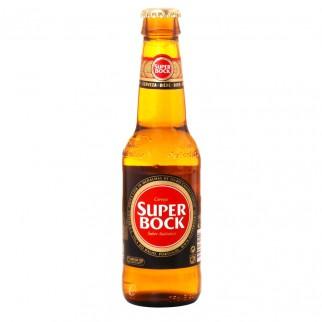 Bouteille de bière Super Bock