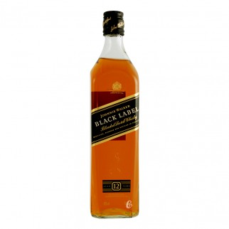Bouteille de whisky Johnnie Walker Black label 70cl