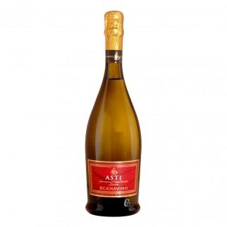 Bouteille de vin blanc ASTI Scanavino 0,75L