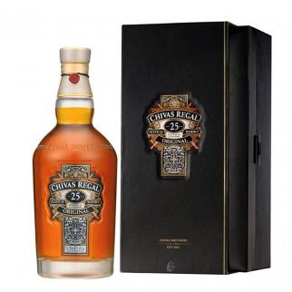 Whisky Chivas 25ans Régal (40° - 70cl.) (Whisky)