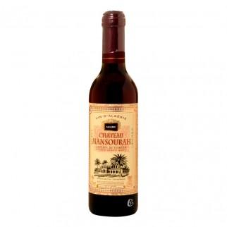 Bouteille de vin rouge Tlemcen chateau Mansourah Algérie