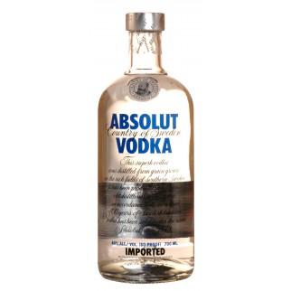 Bouteille d'Absolut Vodka
