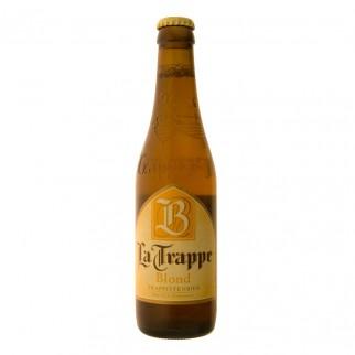 """Bière Trappiste la Trappe """"Blond"""" 33cl - 6,5%"""