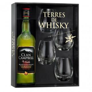 Coffret Terres de Whisky Clan Campbell