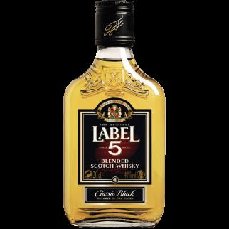 Label 5 Flask 40°