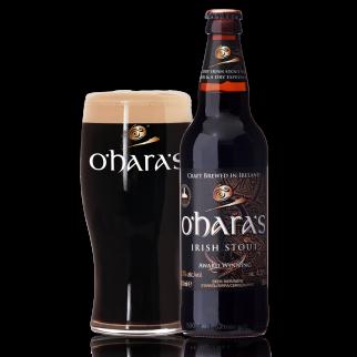 Bouteille de bière OHARAS IRISH STOUT 4.3° VP33CL