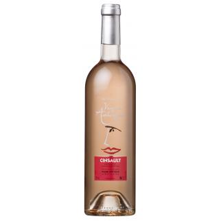 Bouteille de vin CINSAULT ROSE 75 CL x12 VIGNE ANTIQUE