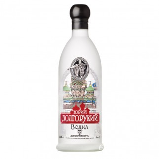Bouteille de vodka Youri Dolgorouki 40° 70cl