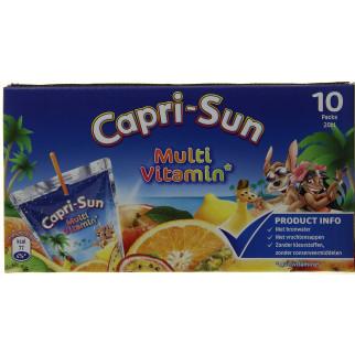 Capri Sun MULTIVITAMINE Sachet 20Cl X40 Boisson fruits plat sans colorants
