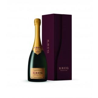 Bouteille de champagne Krug Grande cuvée 75 CL coffret
