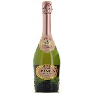 Bouteille de vin MARIE BRIZARD, GRANDIN ROSE BRUT 75CL