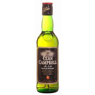 CLAN CAMPBELL FLASK 20CL 40°