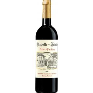 Bouteille de vin ST EMILION CHAPELLE TRINITE 75CL