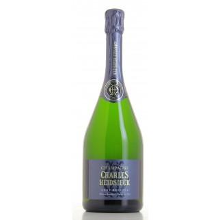 Bouteille de champagne Charles HEIDSIECK brut réserve 75 cl