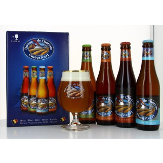 Bouteille de bière COFFRET QUEUE CHARRUE 4B 33CL 1VERRE