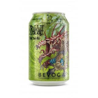 Bouteille de bière BEVOG KRAMAH IPA CAN33CL 6.5°