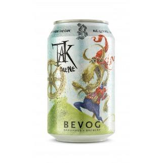 Bouteille de bière BEVOG TAK PALE ALE CAN33CL 5.5°