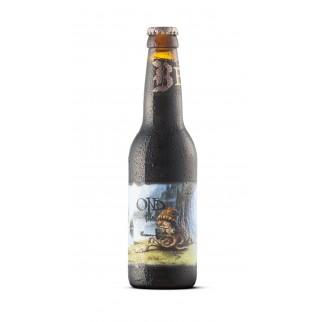 Bouteille de bière BEVOG OND SMOKED PORTER 6.3° 33CL