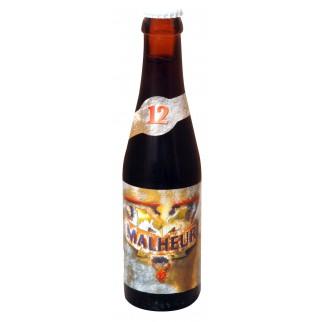 Bouteille de bière MALHEUR 12 VC33CL12°