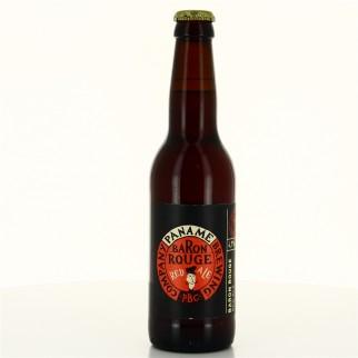 Bouteille de bière BARON ROUGE PBC PANAME 4.8° 33CL