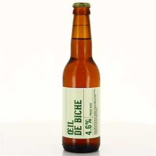 Bouteille de bière OEIL DE BICHE PBC PANAME 4.6° 33CL