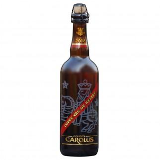 Bouteille de bière Carolus Keizer bleu 75CL