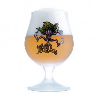 Verre cuvée des trolls 25cl - effet Givré - bière blonde