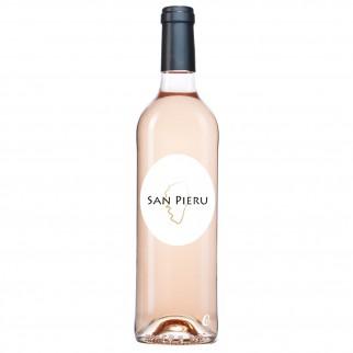Bouteille de vin SAN PIERU ROSE IGP ILE DE BEAUTE 75CL