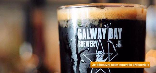 Découvrez la Brasserie Irlandaiqse Galway Bay